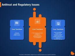 Antitrust And Regulatory Issues Antitrust Ppt Powerpoint Presentation Ideas Graphics Tutorials