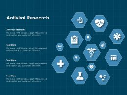 Antiviral Research Ppt Powerpoint Presentation Styles Outline