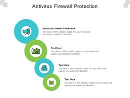 Antivirus Firewall Protection Ppt Powerpoint Presentation Styles Graphic Images Cpb