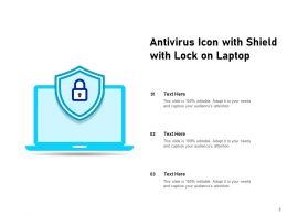 Antivirus Icon Exclamation Protection Computer Monitor