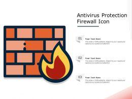 Antivirus Protection Firewall Icon