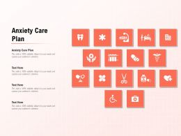Anxiety Care Plan Ppt Powerpoint Presentation Summary Format Ideas