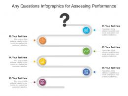 Any Questions For Assessing Performance Infographic Template
