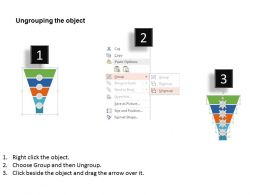 70081659 Style Layered Funnel 5 Piece Powerpoint Presentation Diagram Infographic Slide