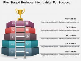 Ap Five Staged Business Infographics For Success Powerpoint Template