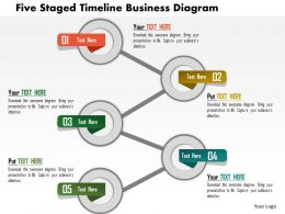 Ap Five Staged Timeline Business Diagram Powerpoint Templets