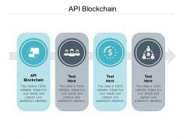 API Blockchain Ppt Powerpoint Presentation Ideas Graphics Design Cpb