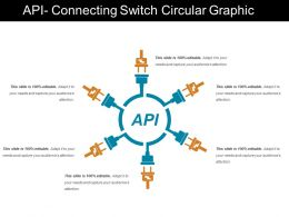 Api Connecting Switch Circular Graphic