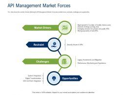 API Ecosystem API Management Market Forces Ppt Powerpoint Presentation File Template
