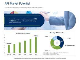 API Ecosystem API Market Potential Ppt Powerpoint Presentation Model Display