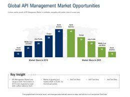 API Ecosystem Global API Management Market Opportunities Ppt Powerpoint Presentation Professional
