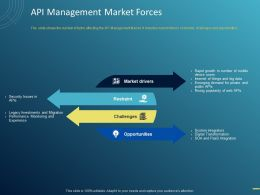 API Management Market Forces Ppt Powerpoint Presentation Infographics File Formats