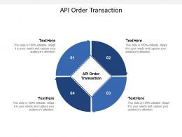 API Order Transaction Ppt Powerpoint Presentation Summary Guidelines Cpb