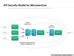 API Security Model For Microservices