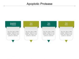 Apoptotic Protease Ppt Powerpoint Presentation Infographics Template Cpb