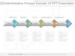App Administrative Process Example Of Ppt Presentation