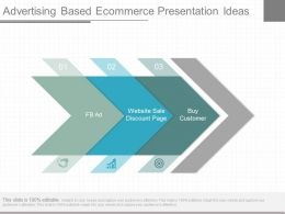 App Advertising Based Ecommerce Presentation Ideas