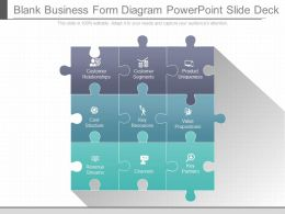 App Blank Business Form Diagram Powerpoint Slide Deck