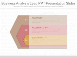 App Business Analysis Lead Ppt Presentation Slides