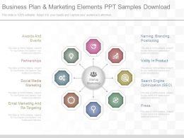 app_business_plan_and_marketing_elements_ppt_samples_download_Slide01