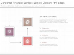 App Consumer Financial Services Sample Diagram Ppt Slides