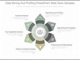 App Data Mining And Profiting Powerpoint Slide Deck Samples