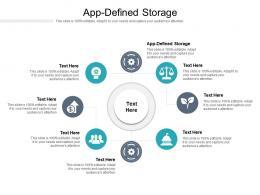 App Defined Storage Ppt Powerpoint Presentation Outline Design Inspiration Cpb