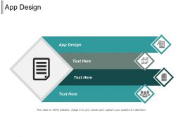 App Design Ppt Powerpoint Presentation Gallery Show Cpb