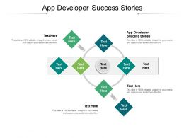 App Developer Success Stories Ppt Powerpoint Slides Example Introduction Cpb
