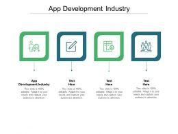 App Development Industry Ppt Powerpoint Infographic Template Smartart Cpb