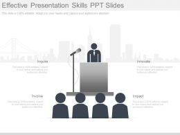 App Effective Presentation Skills Ppt Slides