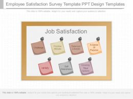 App Employee Satisfaction Survey Template Ppt Design Template