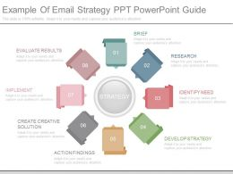 App Example Of Email Strategy Ppt Powerpoint Guide