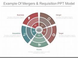 App Example Of Mergers And Requisition Ppt Model