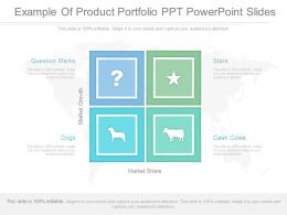App Example Of Product Portfolio Ppt Powerpoint Slides