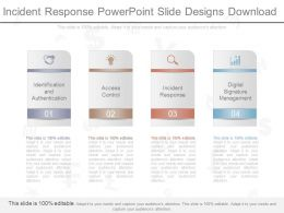 App Incident Response Powerpoint Slide Designs Download