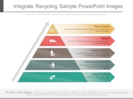 App Integrate Recycling Sample Powerpoint Images