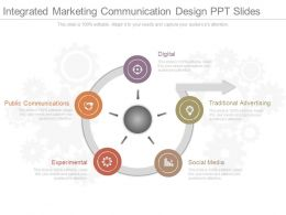 App Integrated Marketing Communication Design Ppt Slides