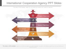 App International Cooperation Agency Ppt Slides
