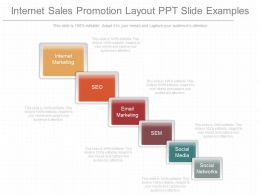 App Internet Sales Promotion Layout Ppt Slide Examples