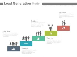 app Lead Generation Model To Improve Return On Investment Powerpoint Slides