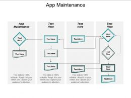 App Maintenance Ppt Powerpoint Presentation Gallery Templates Cpb