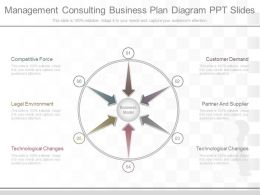 App Management Consulting Business Plan Diagram Ppt Slides