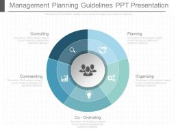 App Management Planning Guidelines Ppt Presentation