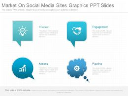App Market On Social Media Sites Graphics Ppt Slides