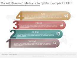 App Market Research Methods Template Example Of Ppt