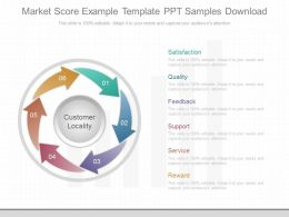 App Market Score Example Template Ppt Samples Download