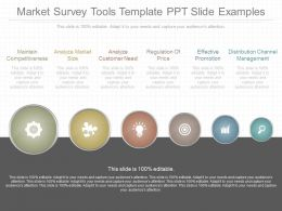 App Market Survey Tools Template Ppt Slide Examples