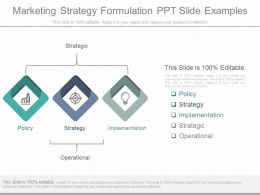 App Marketing Strategy Formulation Ppt Slide Examples