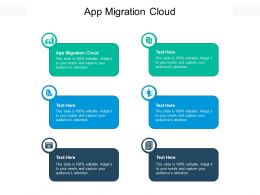 App Migration Cloud Ppt Powerpoint Presentation Pictures Layout Cpb